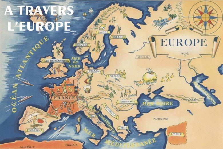 Carte Europe Voyage.Travel In Europe Europe Asia Economic Development Center